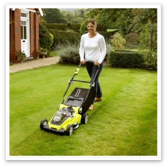 Buy a cordless lawnmower