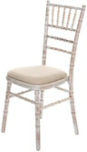 Limewash Banquet Chair