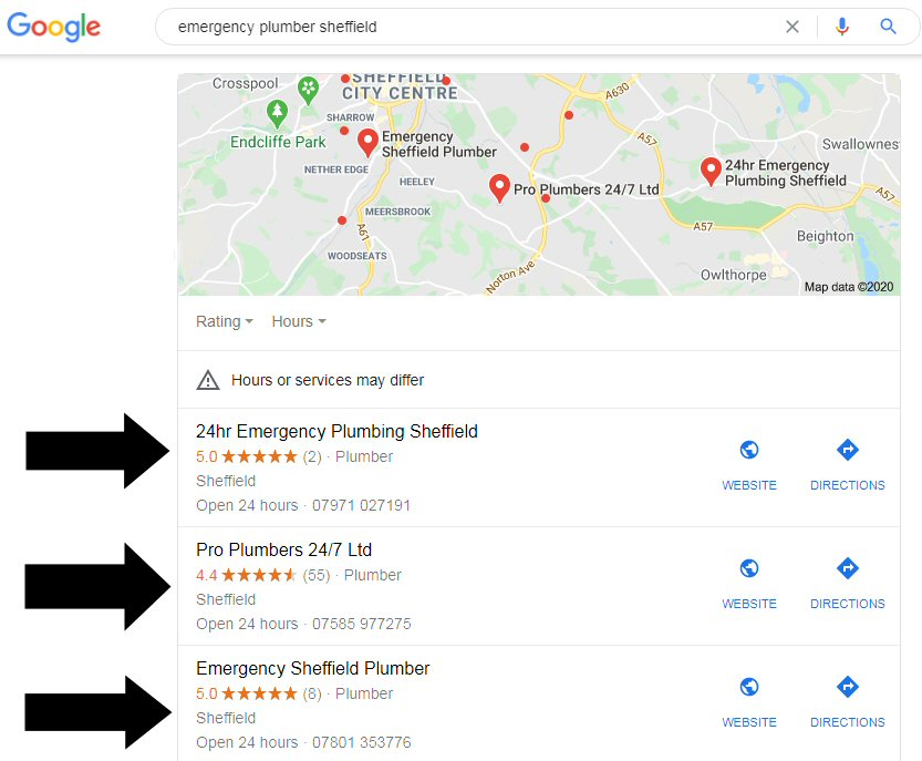 Local SEO Services Sheffield