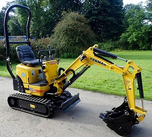 Micro Digger Hire in Doncaster