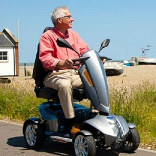 Mobility Scooter Hire in Skegness