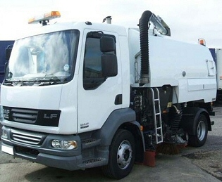 Road Sweeper Hire York