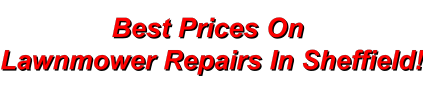 Enjoy the best prices on lawn mower repairs
